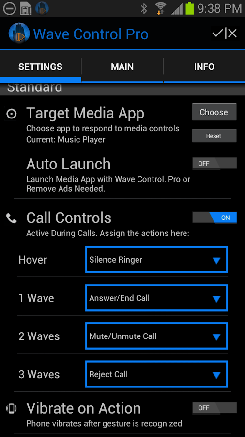 Wave Control Pro Screenshot 1