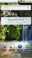 Screenshot of 90 Daily Bible Quotes I