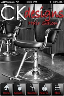 CK Designs Hair Salon - screenshot