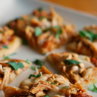 Thai-style Chicken Flatbread