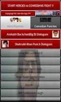 Screenshot of Hindi Punch & Comedy Dialogues