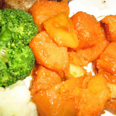 Sherried Sweet Potatoes and Apples