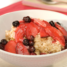 Sunrise Fruit-topped Oatmeal
