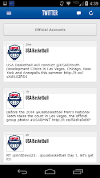 USA Basketball APK screenshot thumbnail 1