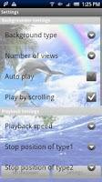 Screenshot of Dolphin Rainbow Trial