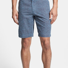 Slate & Stone 'Blue Zebra' Tailored Fit Print Shorts