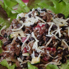 Tex-mex Turkey & Black Bean Ranch Salad