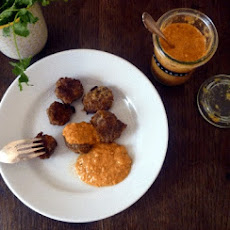 Indian-style Meatballs With Tomato-lemon-cilantro Sauce