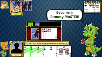 Screenshot of Championship Rummy 500 Rum