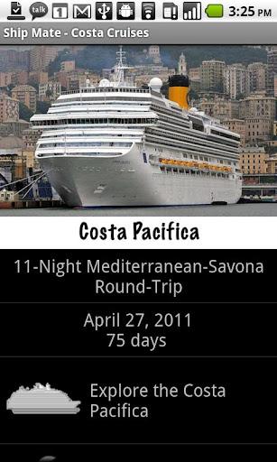 Ship Mate - Costa Cruise Line