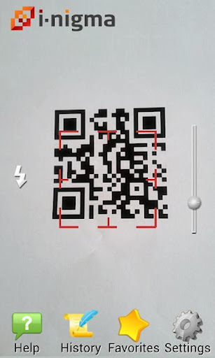 i-nigma QR Barcode Scanner