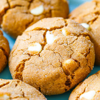 Soft-Baked White Chocolate Chip Molasses Cookies