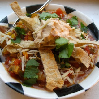 Mexican Tortilla Soup Spanish Recipes