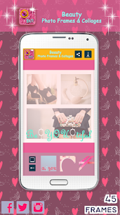 Beauty Photo Frames & Collages - screenshot