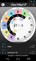 Screenshot of Chord Wheel: Circle of 5ths LE
