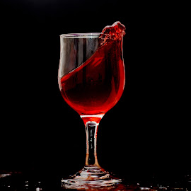Wine Splash by Sarath Sankar - Food & Drink Alcohol & Drinks