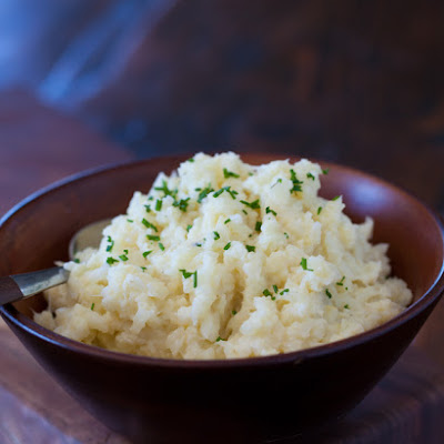 "Cauliflower Mashed ""Potatoes"""