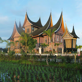 rumah gadang by Pandu Fernando - Buildings & Architecture Homes