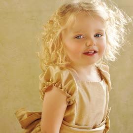 Adorable Girl by Cheryl Korotky - Babies & Children Child Portraits