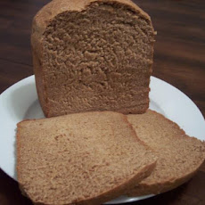 100% Whole Wheat Bread (Bread Machine)