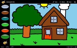 Screenshot of Coloring For Kids