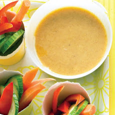 Vegetables with Honey-Mustard Dip