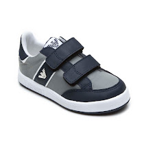 Armani Two Tone Trainer KID TRAINERS