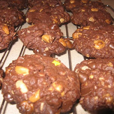 Chocolate Oatmeal Butterscotch Cookies