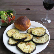 Miso-Garlic Broiled Eggplant