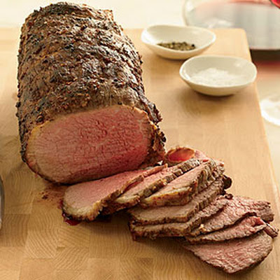 Coriander-Dusted Roast Beef