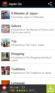 Japan Trip & Travel Guide - screenshot