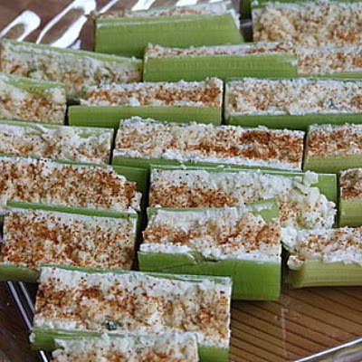 Buffalo- Style Celery Sticks