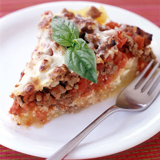 Italian Turkey and Spaghetti Squash Pie