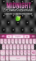 Screenshot of Elegant Pink Heart Keyboard ♥