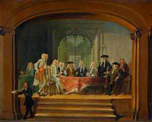 RIJKS: Cornelis Troost: painting 1729
