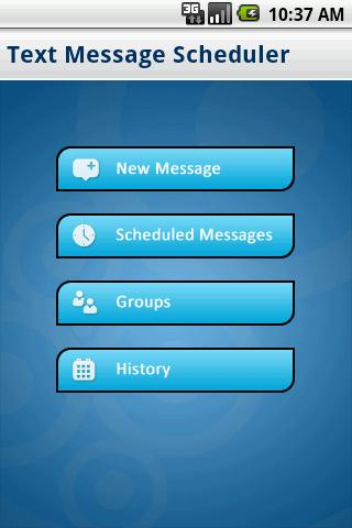 Text Message Scheduler