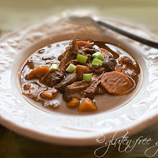 Cranberry Buffalo Roast Stew