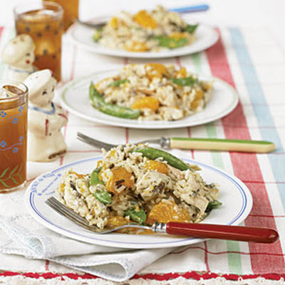 Orange-Wild Rice Chicken Salad
