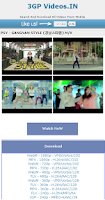 Screenshot of 3gpVideos.In  Unlimited Videos