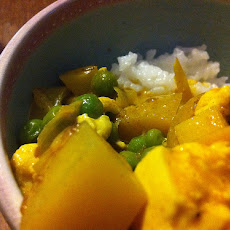 Tofu and Pea Curry
