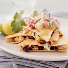Hot-Smoked Salmon Quesadillas