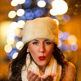 blow me away by Lukas Gisbert-Mora - People Fashion ( fashion, snow )