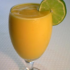 Creamy Mango Lime Smoothie