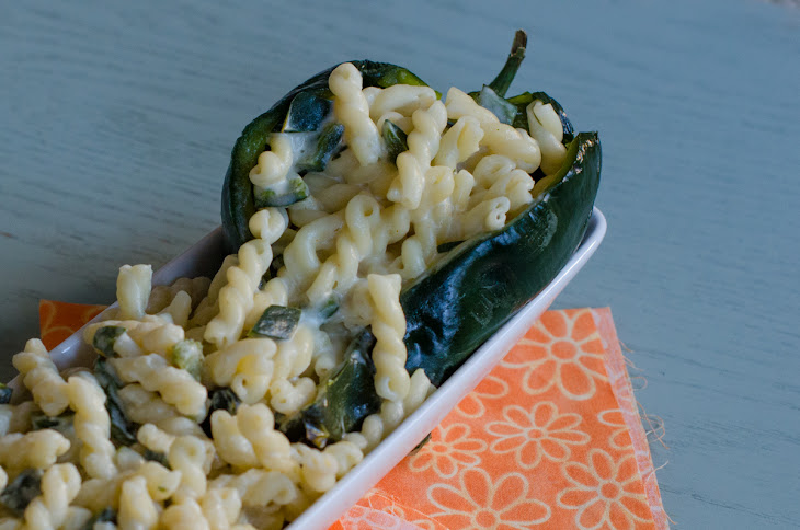 Roasted Poblano and Goat Cheese Mac Recipe | Yummly