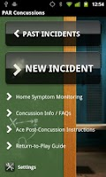 Screenshot of Concussion Recognition & Respo