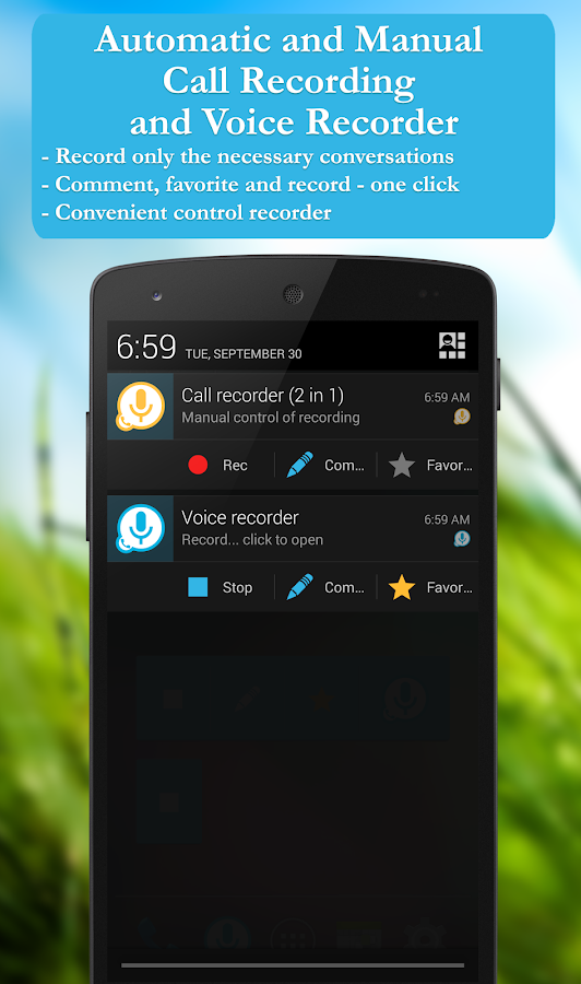 Call recorder Screenshot 0