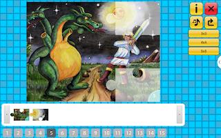 Screenshot of Сказка Чудо-Юдо и пазлы