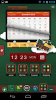 Screenshot of TSF Shell Christmas Theme