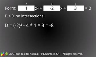 Screenshot of ABC-Form Tool