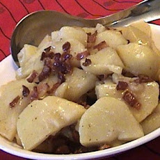Hot German Potato Salad (Microwave)
